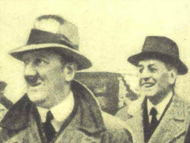 Fritz Thyssen con Hitler