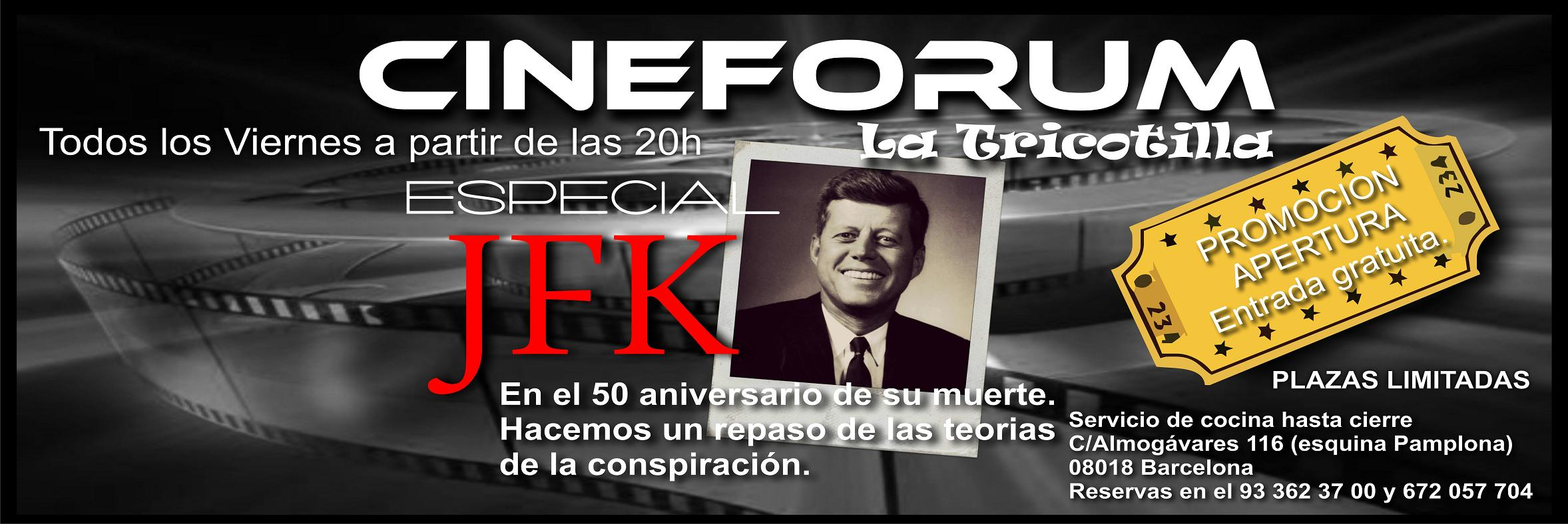 cineforum JFK.