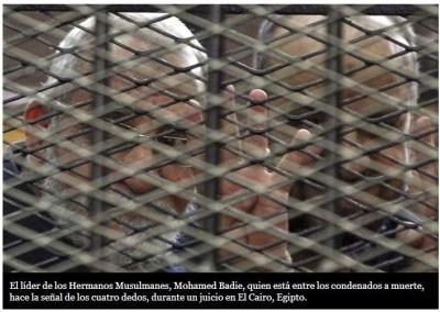 """""""Juez de las ejecuciones"""" manda a la horca a 183 egipcios"""