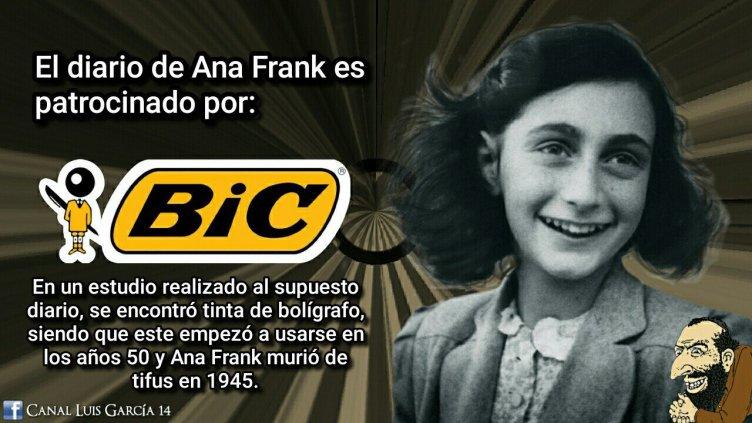 Resultado de imagen de diaRIO Ana frank mentira